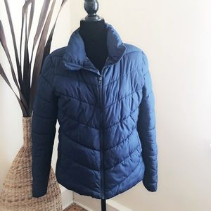 Old Navy Blue Puffer Jacket M